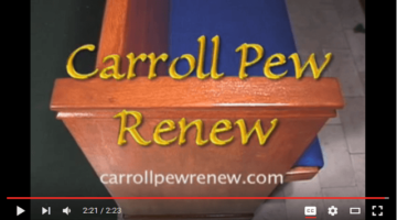 church pews renew