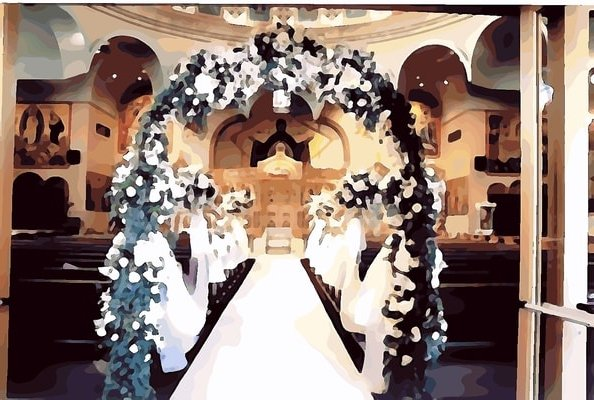 decoration for wedding ceremony